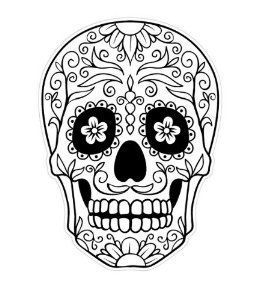 Best 25 Mexican Skull Tattoos Ideas On Pinterest Day Of