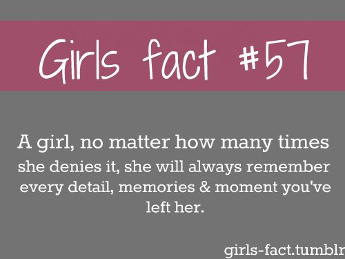 39 Best Girl Facts Images On Pinterest  Quote, True Words -5165