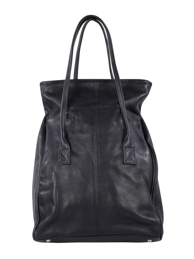 Cowboysbag Bag Wakefield 1290 Henkeltasche Tote aus Leder, Shopper, Handtasche, Schwarz, 31x44x13 cm (B x H x T) Unsere Marken Cowboysbelt