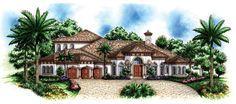 Plan de Florida Casa Mediterráneo 60.464 Elevación