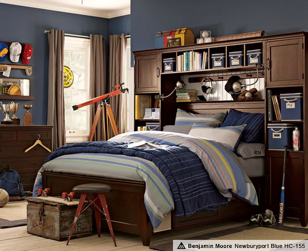 Pottery barn teen boy room room and home decorating for Pottery barn teen paint colors