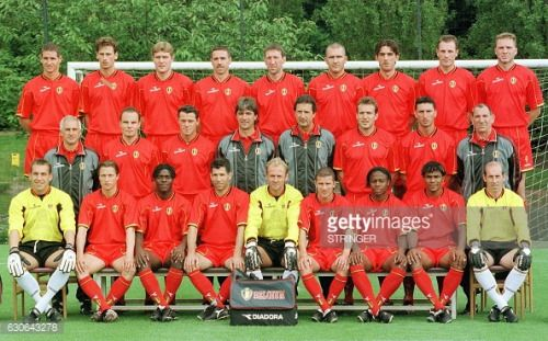 03-16 Family picture of the Belgian National soccer team,... #penza: 03-16 Family picture of the Belgian National soccer team,… #penza