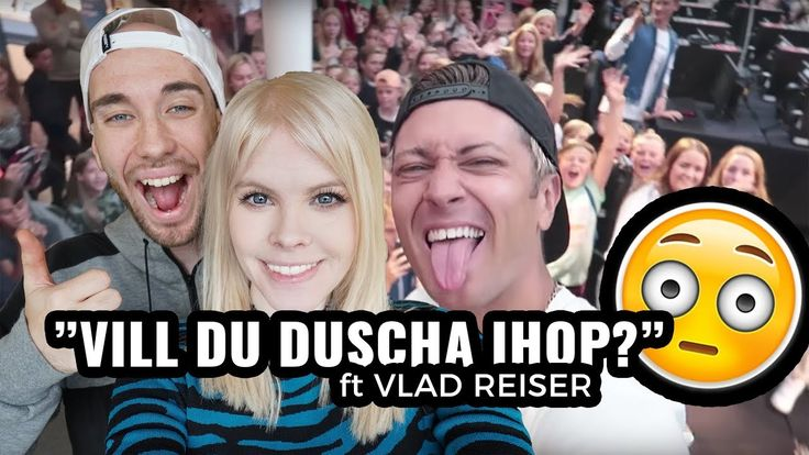 Dusch och utmaning med Vlad Reiser | VLOGG #80  Emma och Konrad besöker Kungsbacka och Kungsmässan med Vlad Reiser för en meetup med alla legender. Tre rimmar tog det att gå igenom alla människor . Vi får också hänga med och se när de hänger på hotellrummet och Konrad och Vlad har sin mariokart utmaning.   Det var så otroligt kul att träffa er alla!  Vlad Reiser s kanal:  https://m.youtube.com/channel/UCa3jghILBkpbMm7nphxiBqA…
