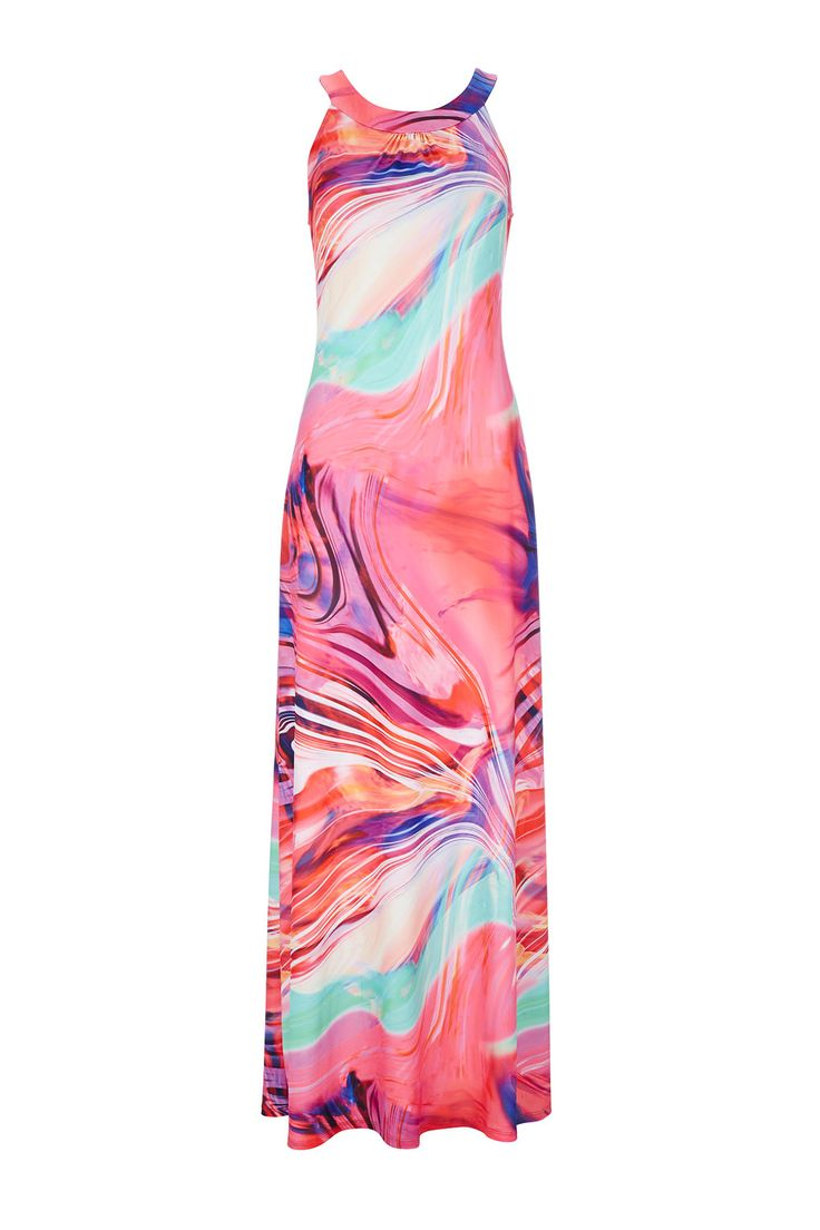 Swirl Print Column Maxi http://bit.ly/1j81PHL #WallisFashion