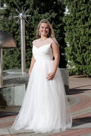 Wedding Dresses White Boho Dress Bile Dlouhe Splyvave Svatebni