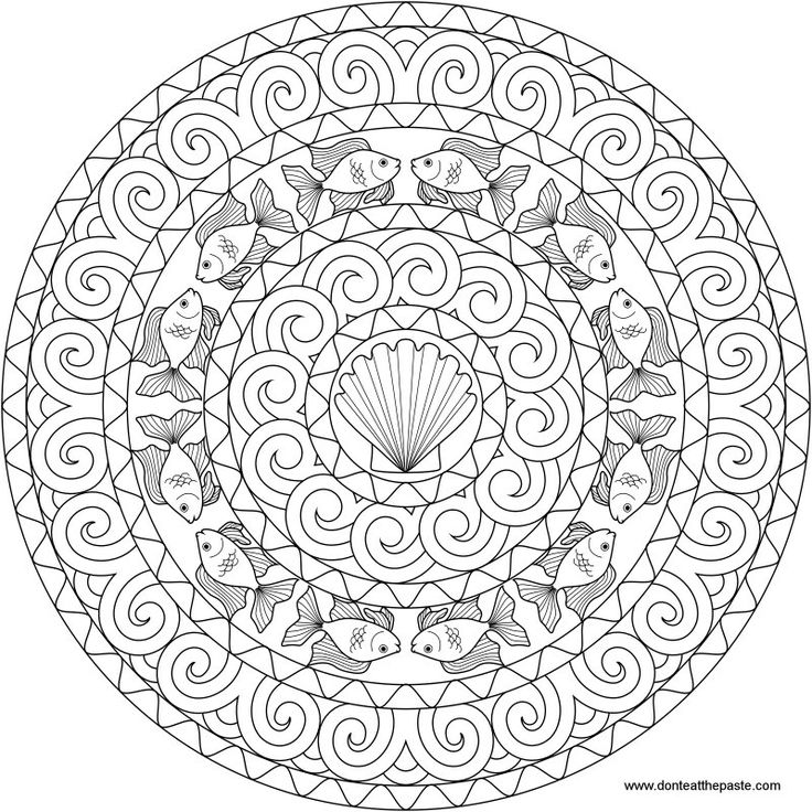 mandala coloring pages complicated love - photo#15