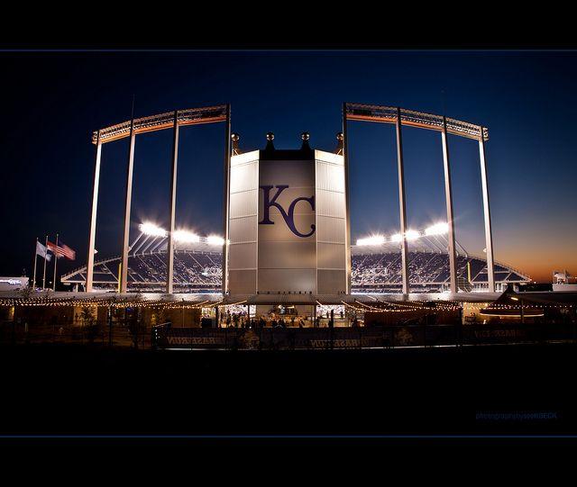 Kauffman Stadium by Old One Eye, via Flickr