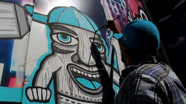MISTER ESCOBAR TIKI URBAN STYLE BRONX SIDE URBAN ARTE GRAFFITY CARLOS ESCOBAR