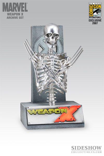 wolverine's skeleton | New Sideshow Weapon X Wolverine Skeleton