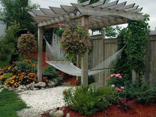 Jardines casita de campo pinterest jardines jard n for Ideas para jardines de campo