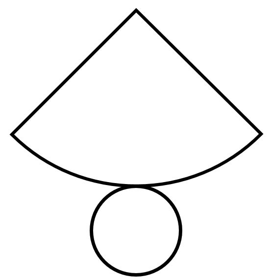 Cone Net: Net Worksheets, Printable Net, Math Net, Geometry Net, Cones ...