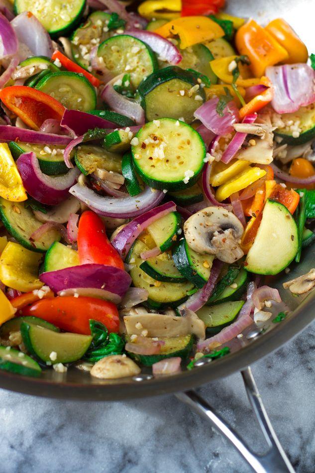 Hummus and Sauteed Vegetable Flatbread Wraps Recipe | Little Spice Jar