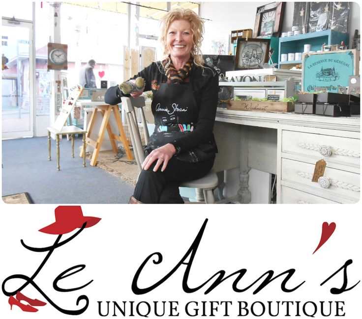 Stockist Q & A with Annie Sloan Stockist Le Ann's Unique Gift Boutique of Moonah, Tasmania | The Palette Blog