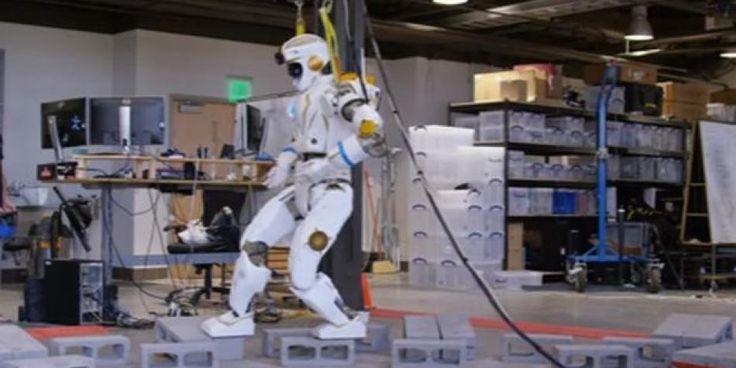 Valkyrie: el robot autónomo con el que la NASA quiere colonizar Marte [VIDEO]
