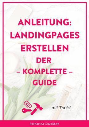 Du willst Landingpages erstellen? Hier findest du den kompletten Guide dafür, inklusive einer Liste mit Landingpage-Tools!