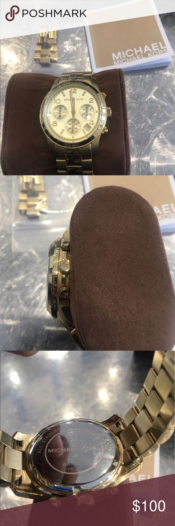 Michael kors watch women Mk-5055 female watch in great shape come with extra links Accessories Watches