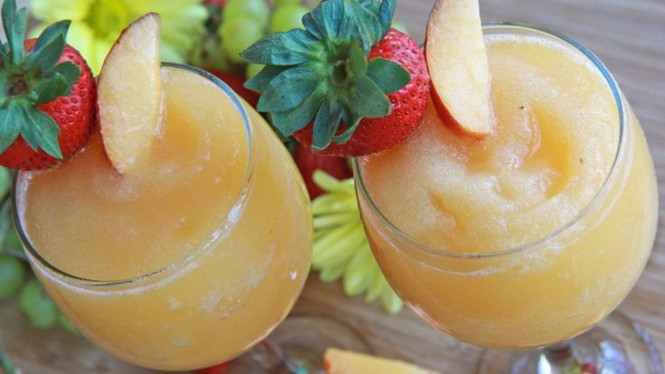 How to make Wine Slushies ~ Peach Moscato | Divas Can Cook