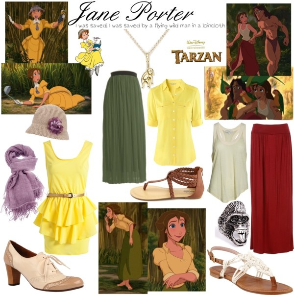 """Jane Porter"" by reya-selene ❤ liked on Polyvore"