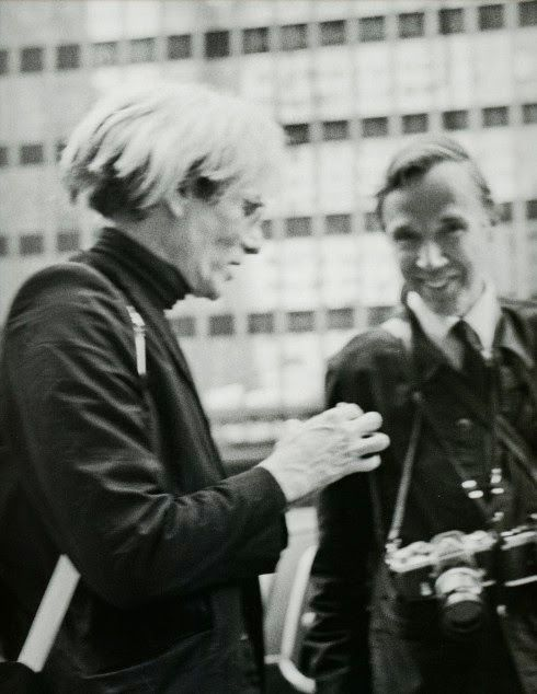 Andy Warhol & Bill Cunningham