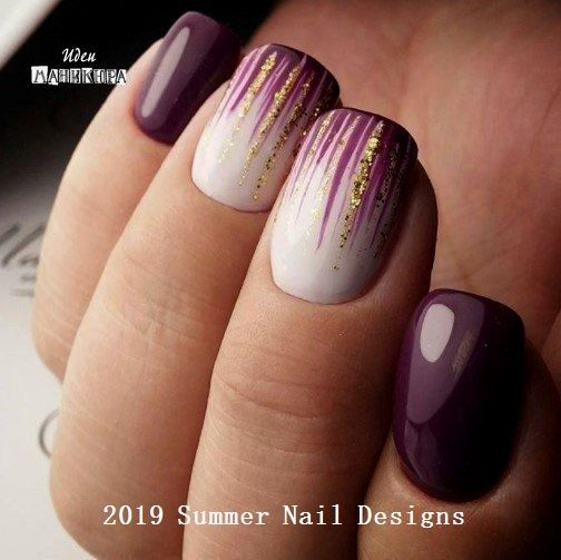 33 Cute Summer Nail Design Ideas 2019 #nailart #nailideas