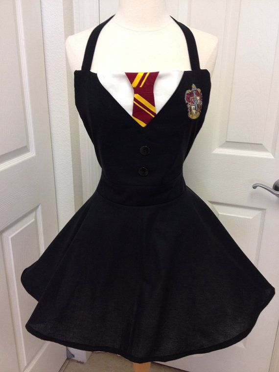 Hey, I found this really awesome Etsy listing at https://www.etsy.com/listing/187261477/harry-potter-adult-full-apron-costume