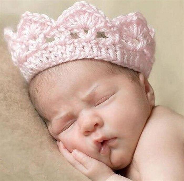 Бесплатная доставка 4 цвет девочка младенческая повязка на голову принцесса корона перл головные уборы аксессуары для волос купить на AliExpress