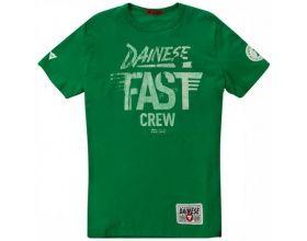 Dainese T-Shirt Fast Crew verde