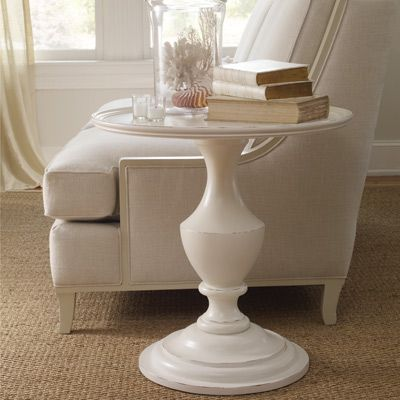 Somerset Bay Madeira End Table At #LaylaGrayce $1453 {Column In Building  Supplies + Tray