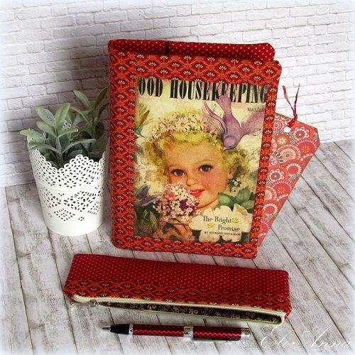 Book Covers, Pencil Case, Cosmetic Bag