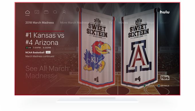 Hulu Live TV finally adds game start notifications with launch of new March Madness hub
