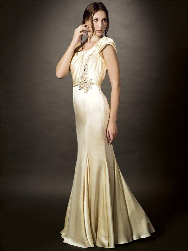 152 best Art Deco Inspired Wedding Dresses images on Pinterest ...