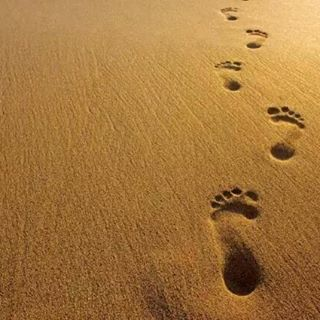 Feliz miercoles @krisgfk14 . Huellas muy profundas en la arena. Como las que tu dejas en los  Que tengas un genial thour. Se feliz. Cuidate. Se te quiere muñeko #aonang #Krabi. @thalassa_tour_tailandia.  by carmenteruelcarmona