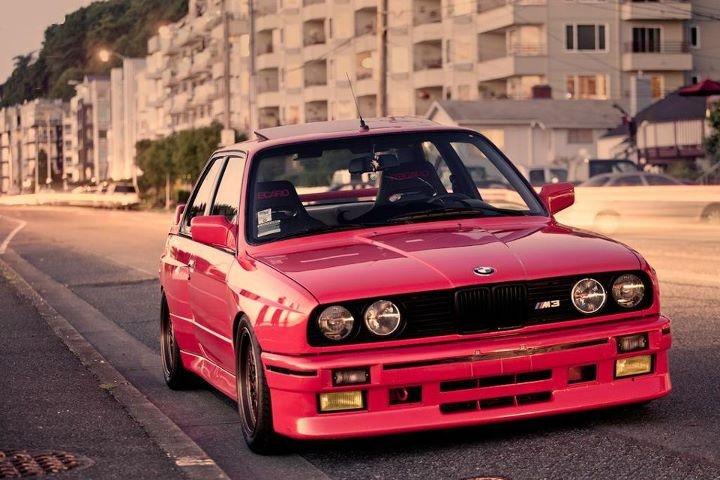 Red E30 M3 | BMW | Pinterest