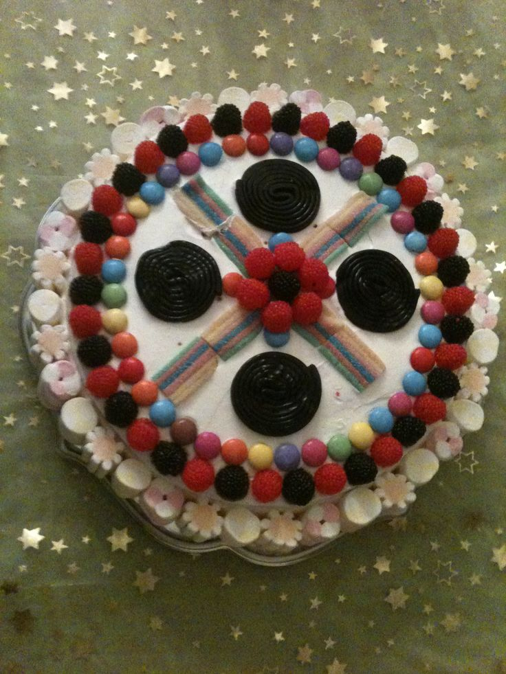 CandyCake #kidscakes