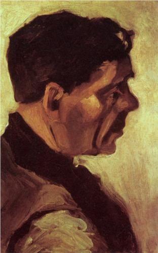 Head of a Peasant - Vincent van Gogh