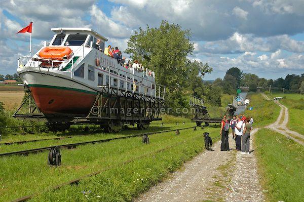 Elblag Canal in Poland