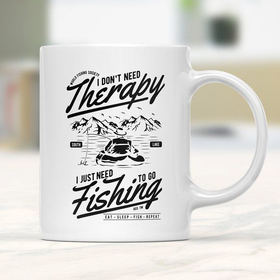 Fishing Mug Fishing Coffee Mug Fishing Gifts Funny Fishing Etsy Mugs Fishing Humor Funny Coffee Mugs