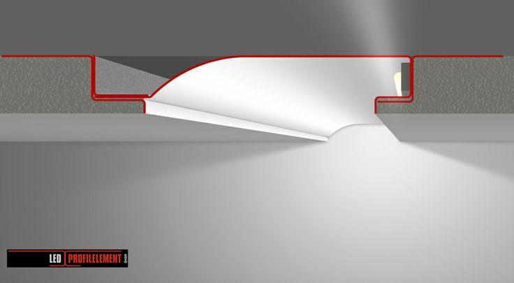ber ideen zu indirekte beleuchtung led auf pinterest indirekte beleuchtung badezimmer. Black Bedroom Furniture Sets. Home Design Ideas