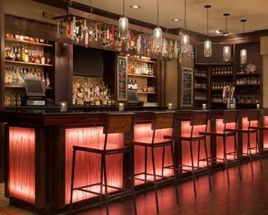 Hilton Greenville Hotel, Greenville, NC - Lobby Bar | NC 27834