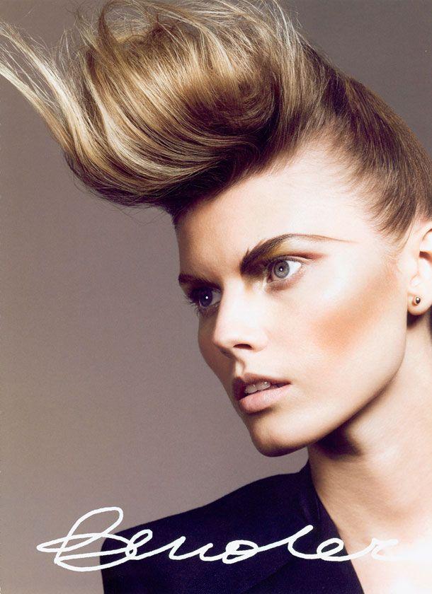 Gender Bender | Maryna Linchuk by Jem Mitchell for Vogue Nippon Beauty, October 2009 | Hair: Sam McKnight | MUA: Val Garland