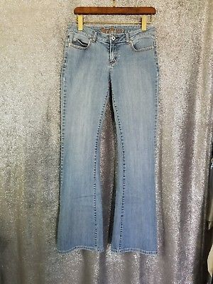 GUESS Jeans 'Venice' Women's Low-Rise 5 Pocket Bootcut Stretch Jeans- Size 27