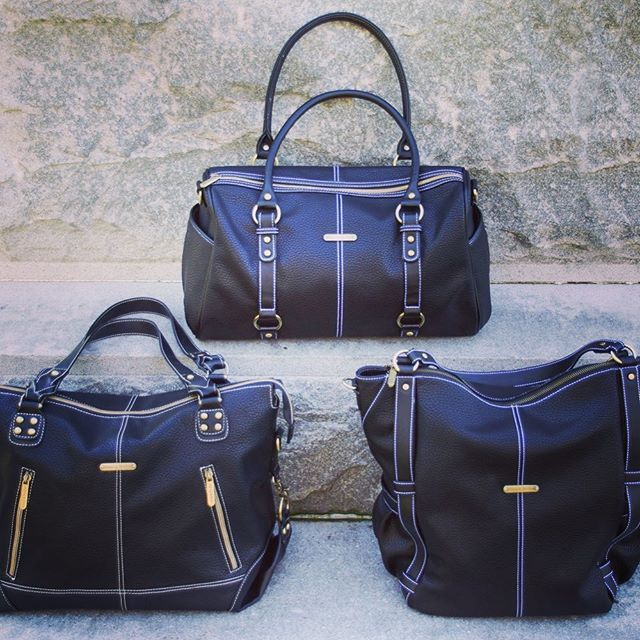 Timi&leslie diaper bags from their Black Edition are everything a diaper bag should be, gorgeous and functional.