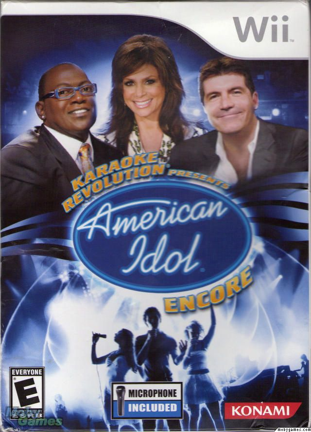 american. idol wii games. | Karaoke Revolution Presents American ...