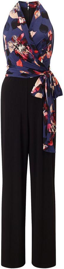 Adrianna Papell Floral jumpsuit  #sale #afflink #jumpsuit