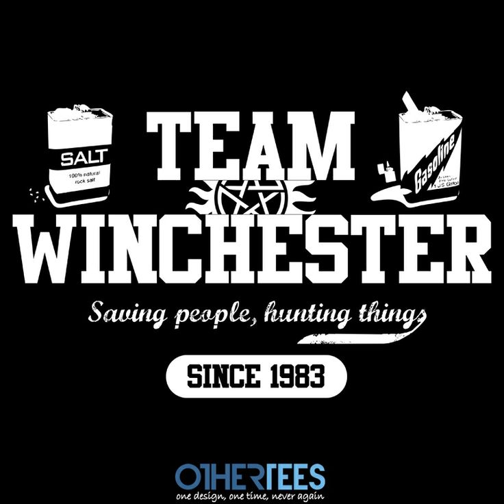 OtherTees - Team Winchester