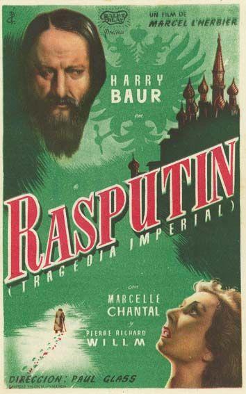 "Rasputín (1938) ""La tragédie impériale"" de Marcel L'Herbier - tt0031840"