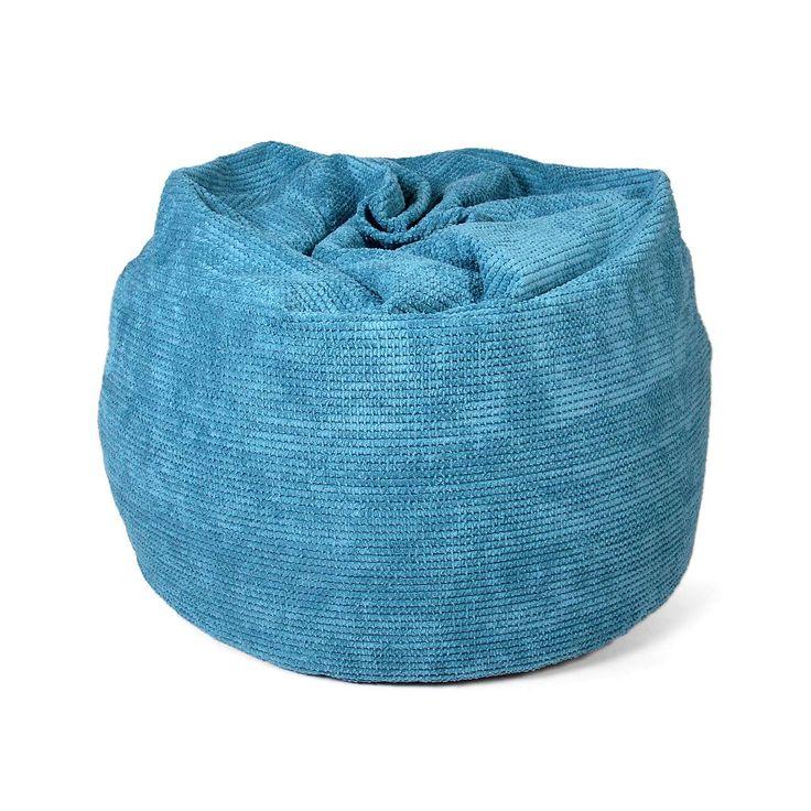 Brick Hug Teal Bean Bag | Dunelm