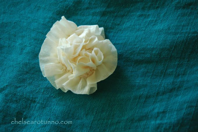 flower-on-teal-fabric