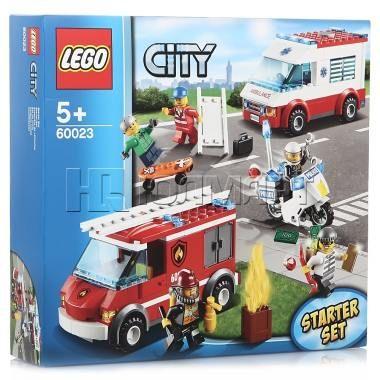 Конструктор LEGO City Набор для начинающих, Лего Город, 5+ лет (60023)