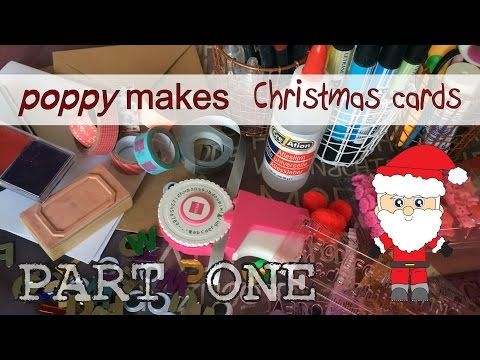 Poppy makes… Last Minute Christmas Cards - a 2 Part Christmas Special. In this 2 PART video tutorial I will show you step by step how you can make some very fun, easy and super quick Christmas Cards. Go to my blog poppymaakt.blogspot.com. Have fun!  #PoppyMakes #Poppymaakt #Christmas #Tree #Handlettering #Envelope #Baubles #Lights #Rudolph #RudolphTheRedNosedReindeer #Reindeer #Cards #DIY #WashiTape